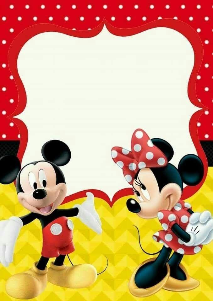 Pin De Lili Velikova Em Minnie Mouse Convite Aniversario Mickey Convite Aniversario Minnie Festa Mickey E Minnie