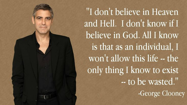 air and   max Truth  Clooney  air So vs Atheism true Life  George force