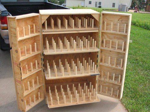 ~Beautiful thread storage cabinet  http://vk.com/                                                                                                                                                                                 More
