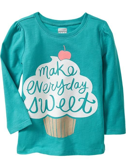 Long-Sleeve Graphic Tees for Baby Product Image