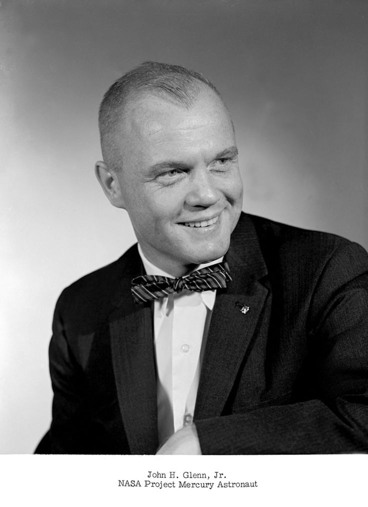 John Glenn, official portrait, 1959.