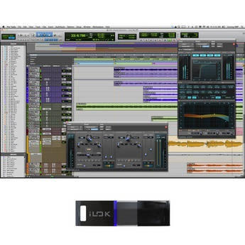 Avid   Pro Tools 10 - Professional Audio Recording and Music Creation Software (iLok + Activation Card)