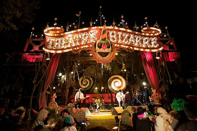 Theatre Bizarre. See you this year, beautiful