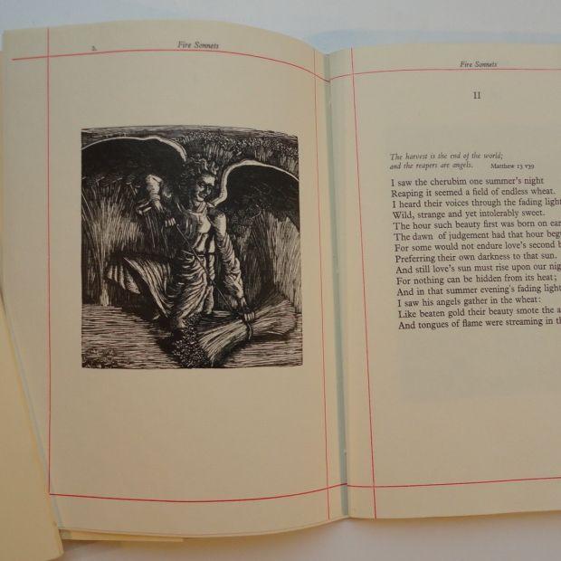 Fire Sonnets - Illustrated Books - Work - The Roger Wagner Website