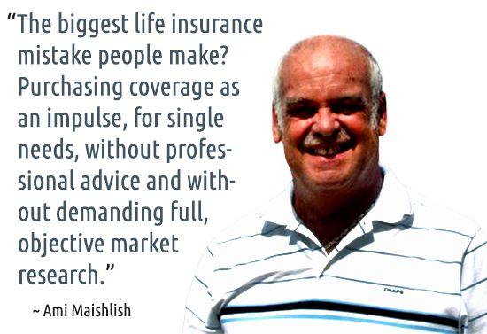 ~ Ami Maishlish #quotes #insurance