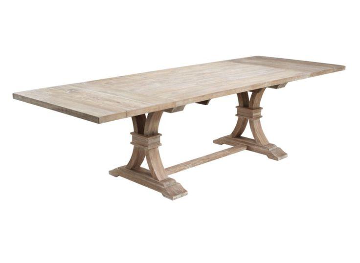 Archer Wash Oak Extending Dining Table Oak Extending