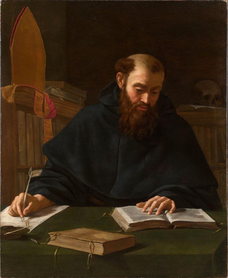 Autore ignoto - Sant'Agostino nello studio