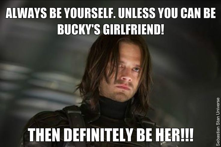 Because she's Black Widow. And she's badass in her own right.   And yeah, Bucky can get it. #sexymurderstrut #thosethighs