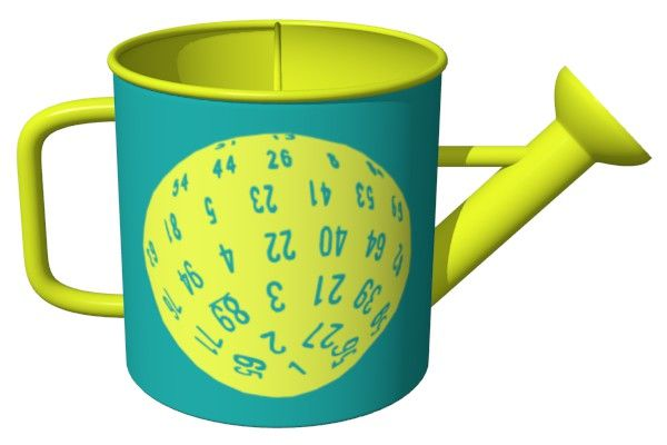 D100 Dice Watering Can