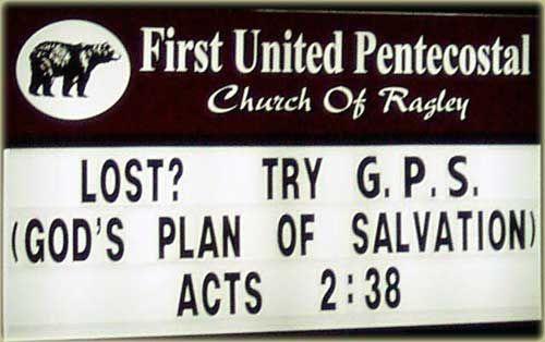 G.P.S. = God's Plan of Salvation