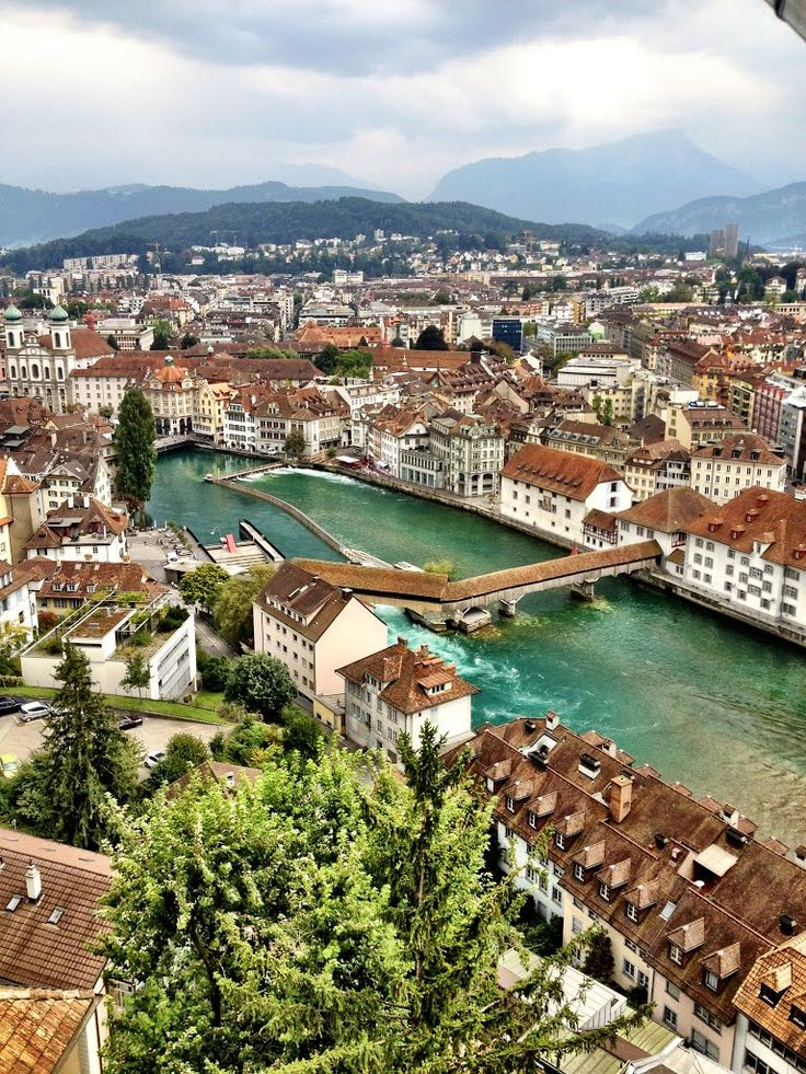 Got to visit the beautiful city of Luzern today