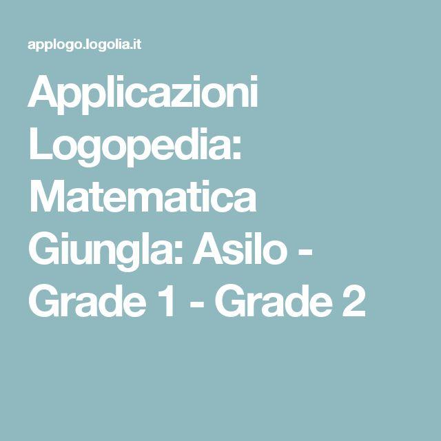 Applicazioni Logopedia: Matematica Giungla: Asilo - Grade 1 - Grade 2