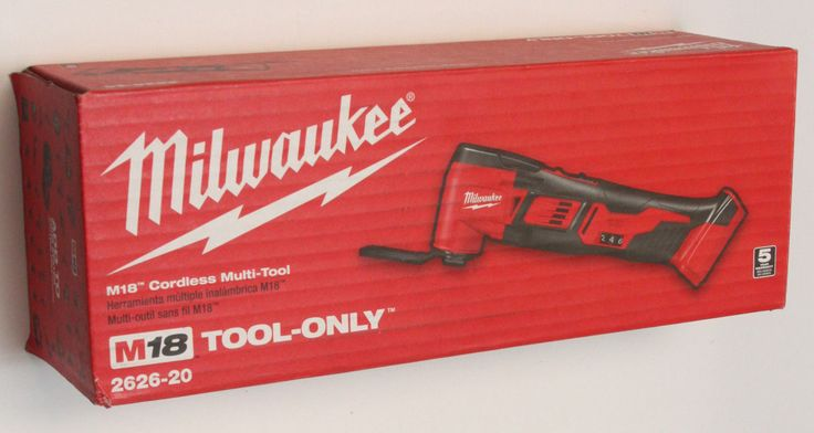 Other Power Saws and Blades 122838: New Milwaukee 2626-20 M18 18V Li-Ion Cordless Multi-Tool -> BUY IT NOW ONLY: $109.99 on eBay!