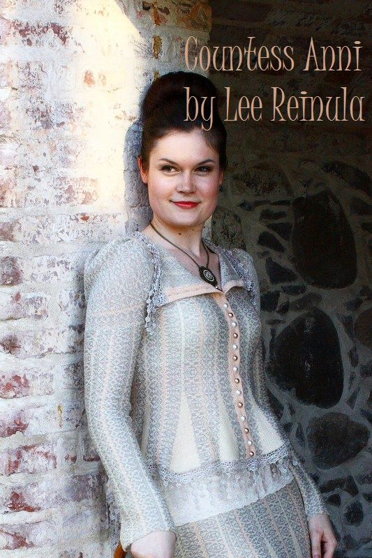 Countess Anni by Lee Reinula 2013, merino and lace