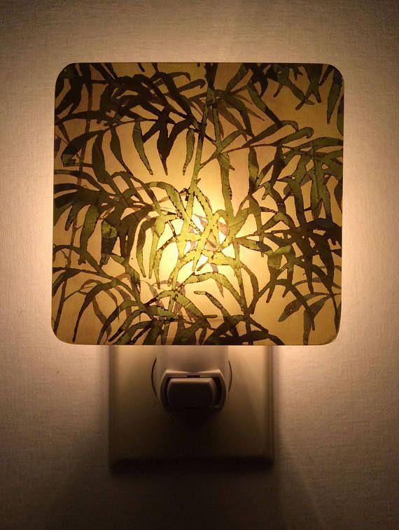 Bamboo Night Light Bamboo Leaf Art Plug In Nightlight Night