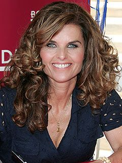 Maria Shriver is 57, author-news personalilty-former 1st lady CA.  11/06/2012