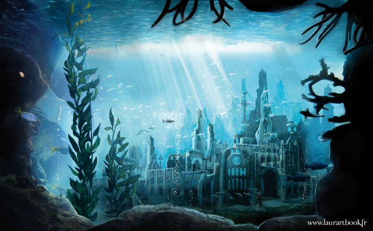 YS the lost underwater city by laura-csajagi.deviantart.com