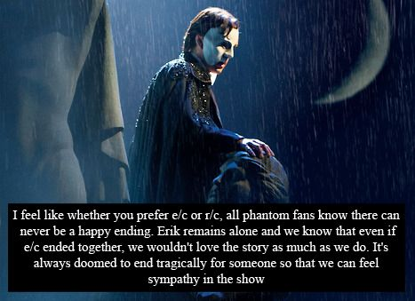Phantom of the Opera Confessions | I love this! This could be one of the most accurate description of the story!