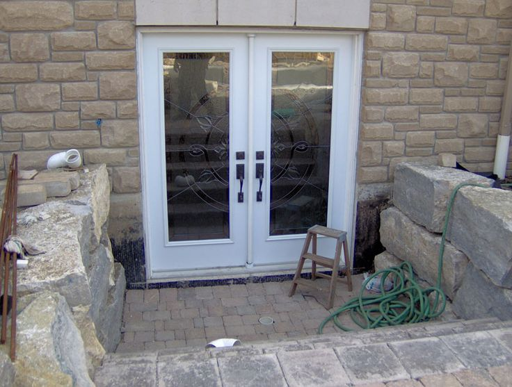 17 best images about basement windows walkouts and for Walkout basement door options