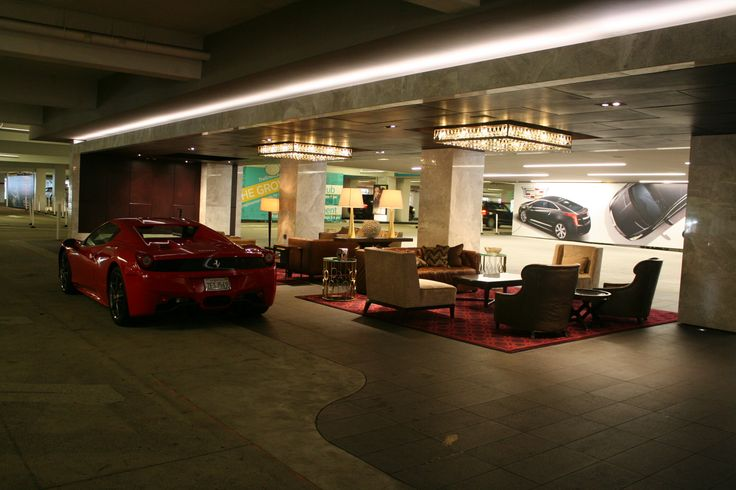 The Grove LA_Valet Lounge