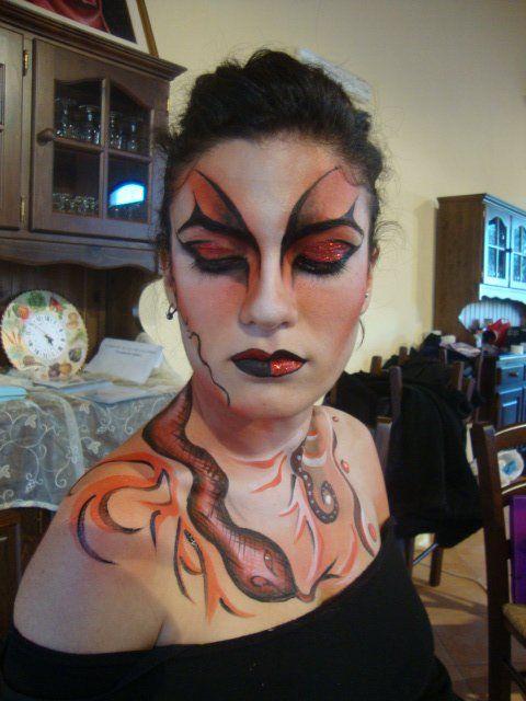 Body Painting...Principessa Dark