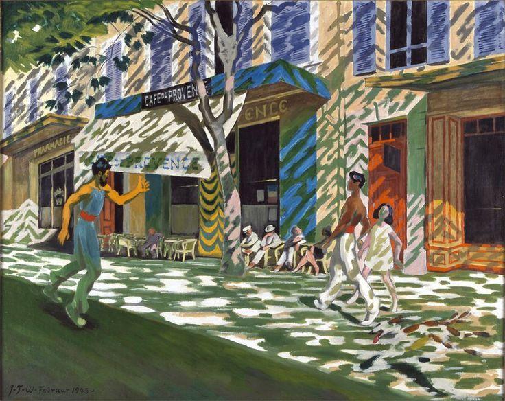 J.F. Willumsen 1863-1958: Café de Provence, 1943