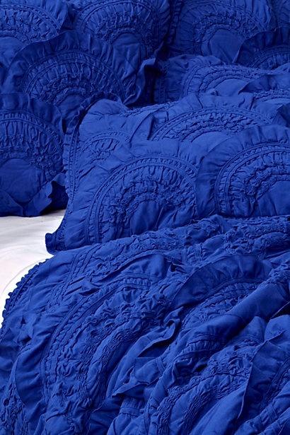 rivulets bedding in cobalt