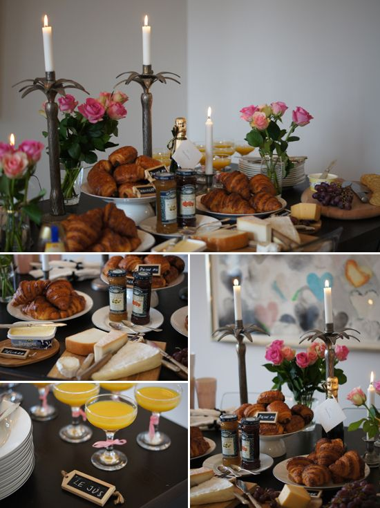 La Vie en Rose: French-themed breakfast perfect for a bridal shower or baby shower