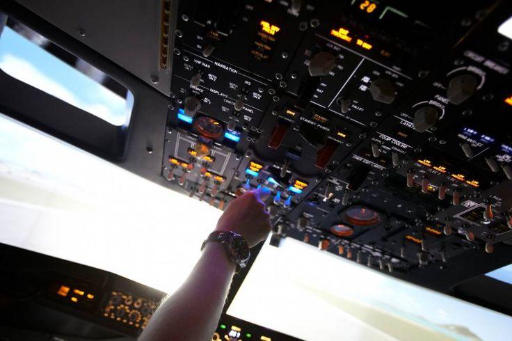 Vysněný pohled z letadla...