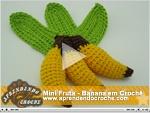 Mini Fruta - Banana em Crochê