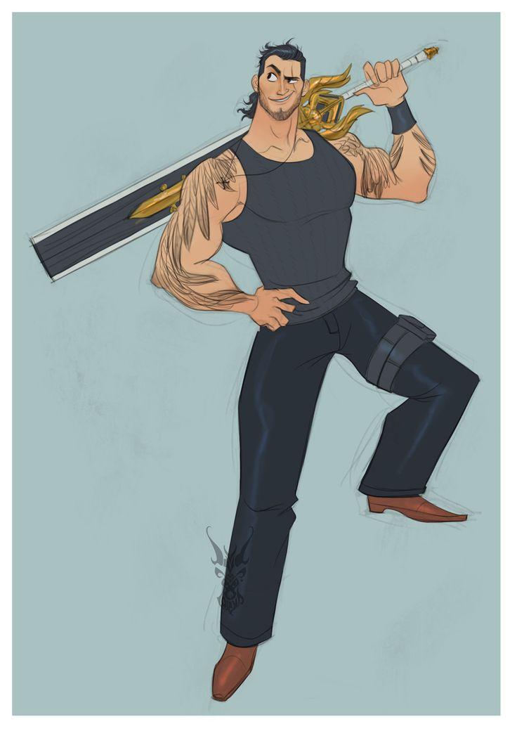 ArtStation - Final Fantasy XV drawings, David Ardinaryas Lojaya
