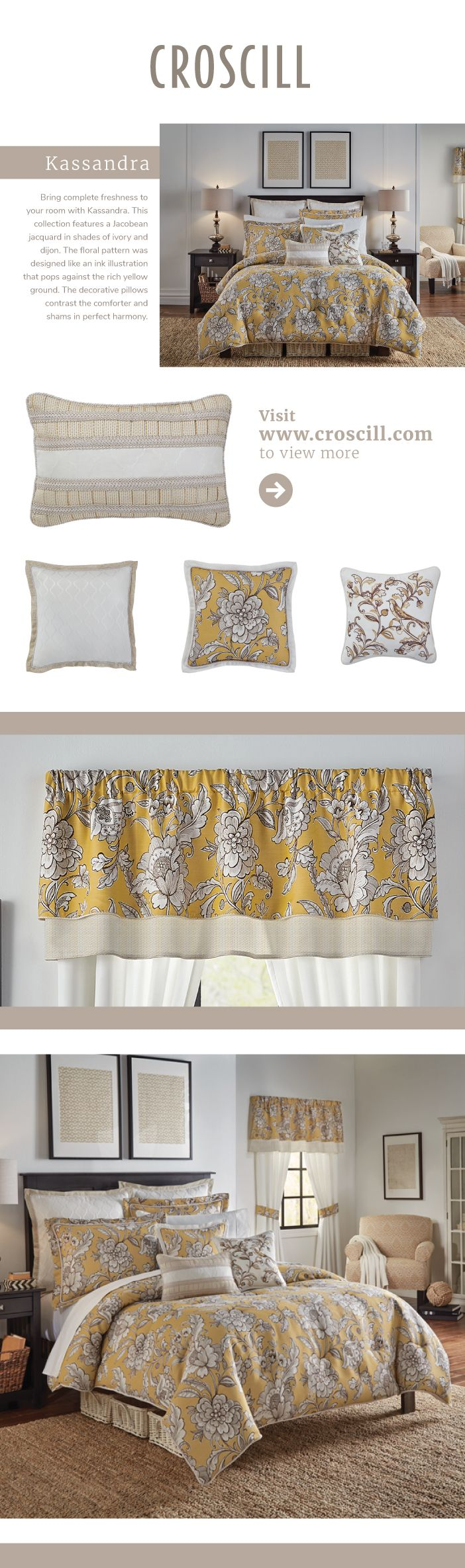 Bedding jardin collection bedding collections bed amp bath macy s - Kassandra Bedding Collection Croscill