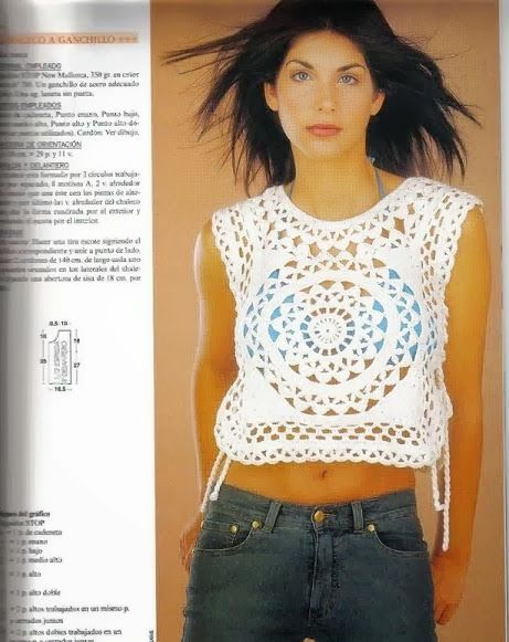 Mejores 603 imágenes de crochet prendas en Pinterest | Ponchos ...