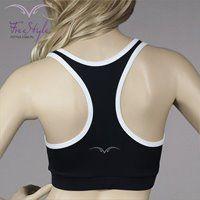 BOXER TOP BLACK/WHITE #moda  #fitnessfashion #top #free_style #girl #fashion #sexy #like #fitness #dri-fit #boxerka