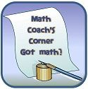 Math Coach's Corner: website with lots of great math activities & info. Remember to make problem solving anchor chart.