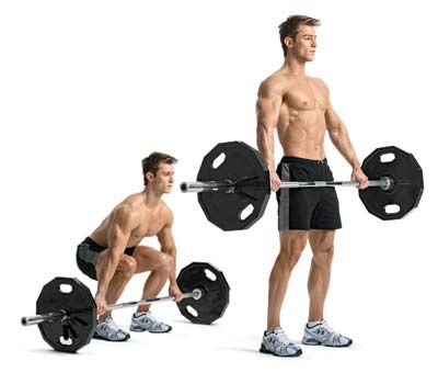 Lower Back Crack Deadlift Platform