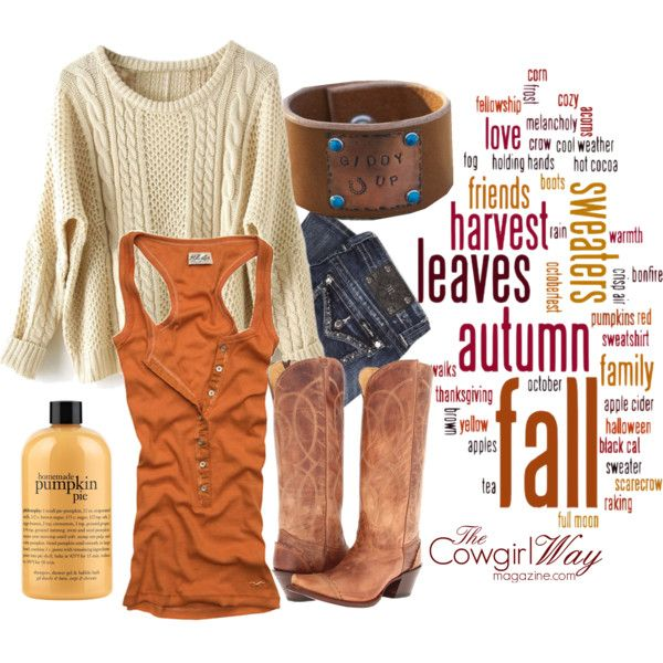 """""""Autumn afternoon"""" by thecowgirlwaymagazine on Polyvore"""