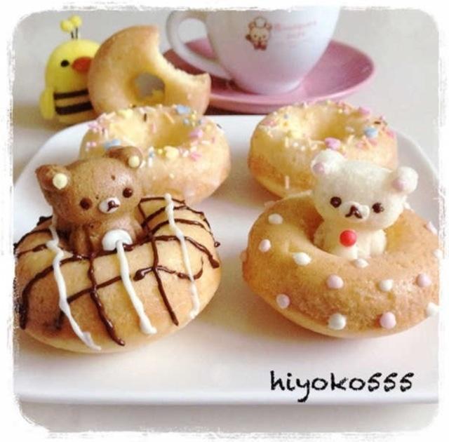 Rilakkuma donuts
