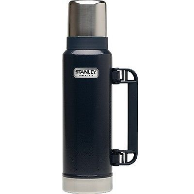 Novelties and Gifts 62143: Stanley Classic 1.1 Quart Hammertone Navy Vacuum Bottle 10-01254-036 -> BUY IT NOW ONLY: $32.08 on eBay!
