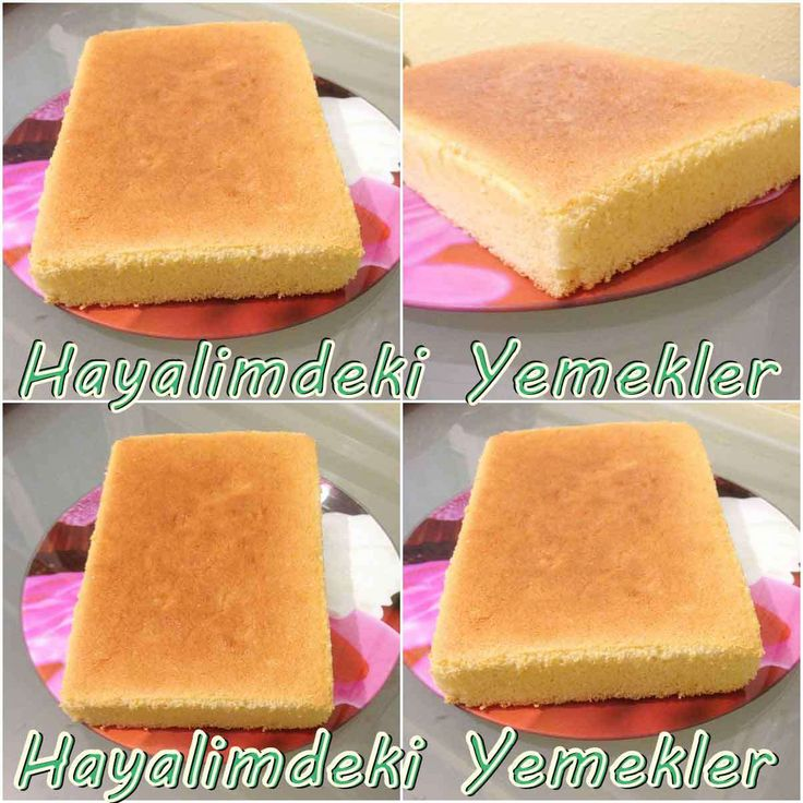 Yumuşacık Pasta Keki (Pandispanya )