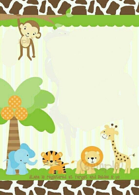 safari invite template u2026 Pinteresu2026 - new jungle powerpoint template