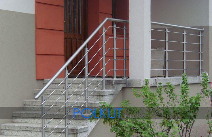 balustrada nierdzewna zewnętrzna