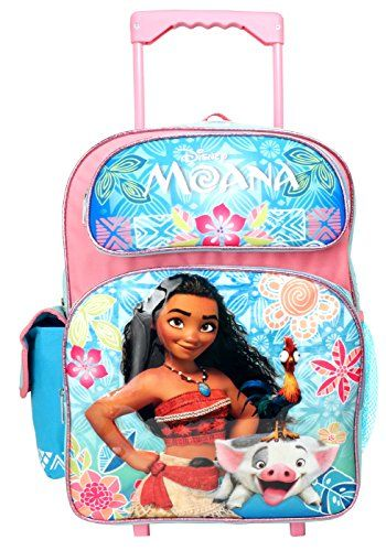 fb38657b7b4d New Ruz Disney Moana 16 inches Rolling Large Backpack - New with Tags  online.
