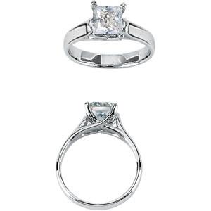 love princess cut diamonds!