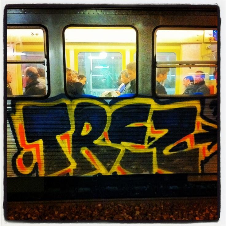 train ligne H Villetaneuse 07/11/2012