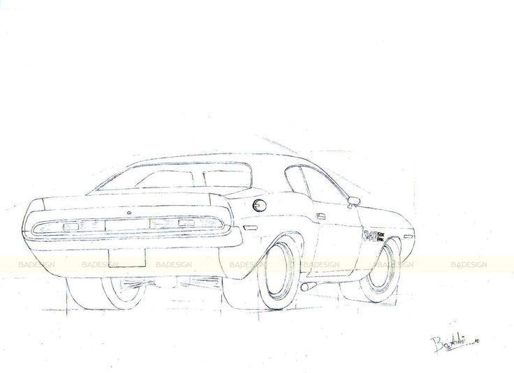 Dodge Challenger #BADesign