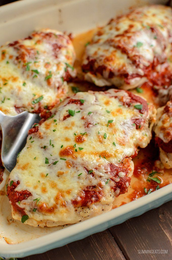 The Ultimate Syn Free Pizza Chicken - For when you fancy pizza but don't have a Healthy Extra B choice free.