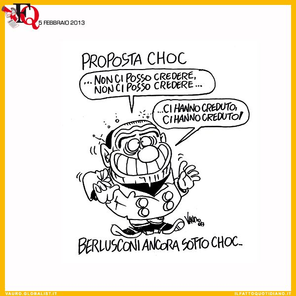 Berlusconi: proposal shock