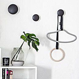 top3 by design - PYTT Living - PYTT Living hangers string grey