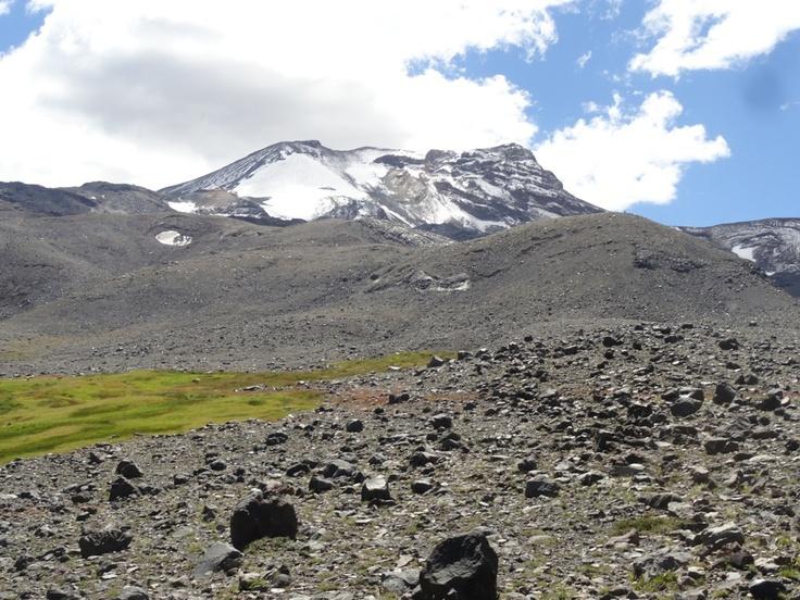Volcán Chillán.